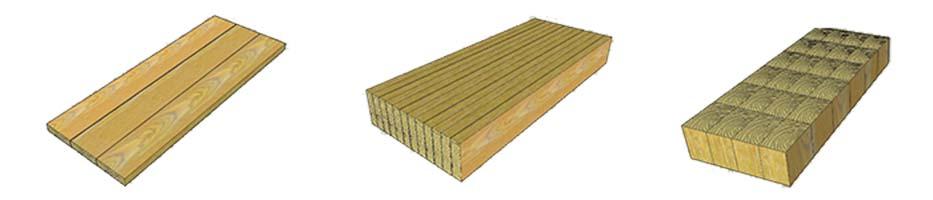 encimera de madera ensamblado
