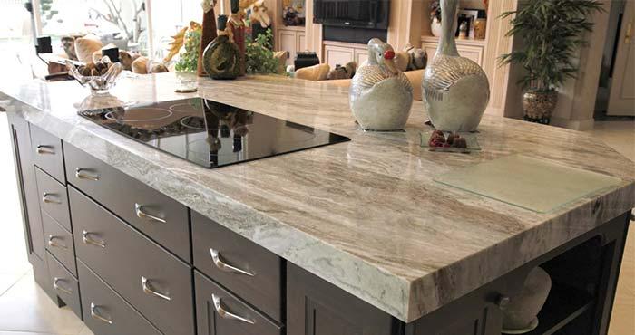 M s de 50 encimeras de granito gama de colores blanco for Colores de granito para encimeras de cocina