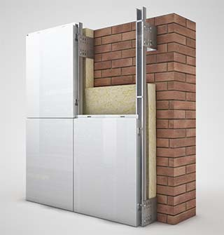 Precios de fachadas ventiladas materiales de - Revestimientos de fachadas precios ...