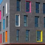 fachada ventilada ceramica color