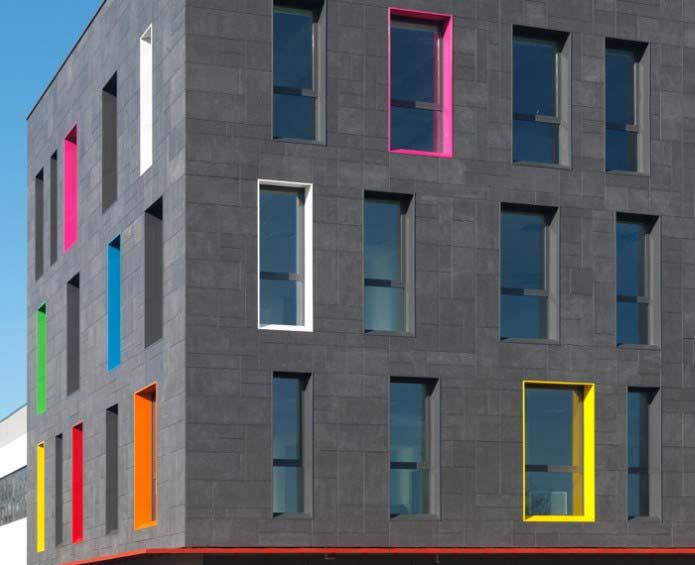 Fachadas ventiladas cer micas extrusionadas o prensadas - Productos para impermeabilizar fachadas ...
