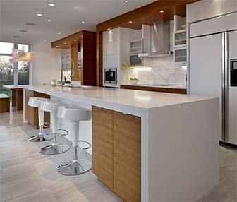 Encimeras de cuarzo compacto al mejor precio en todas las for Mejor material para encimeras de cocina