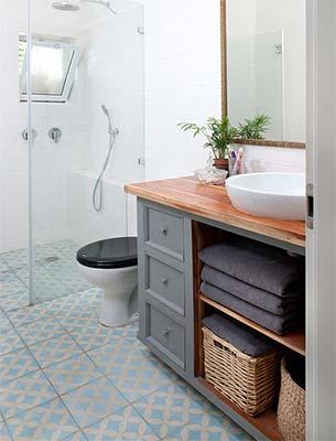 encimeras baño madera
