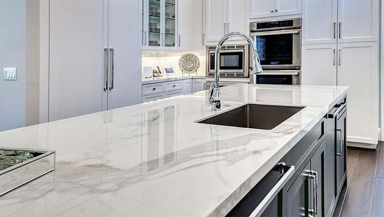 Precio encimera granito nacional trendy simple encimeras for Encimera de marmol precio
