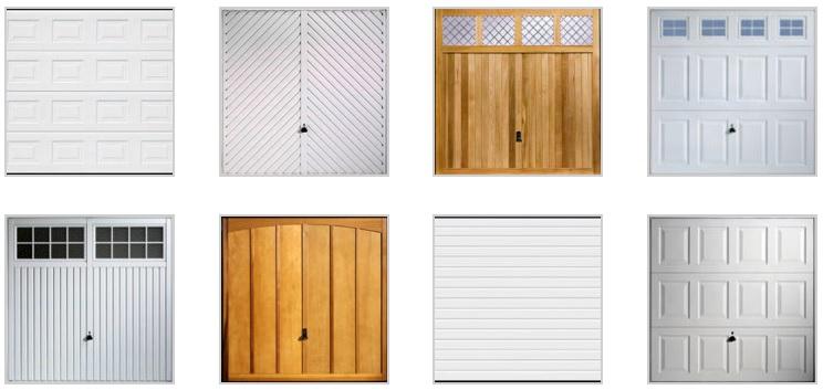 modelos puertas de garaje