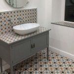 alicatado baños rusticos