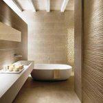 baño moderno alicatado